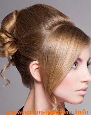 Французская ракушка на длинные волосы