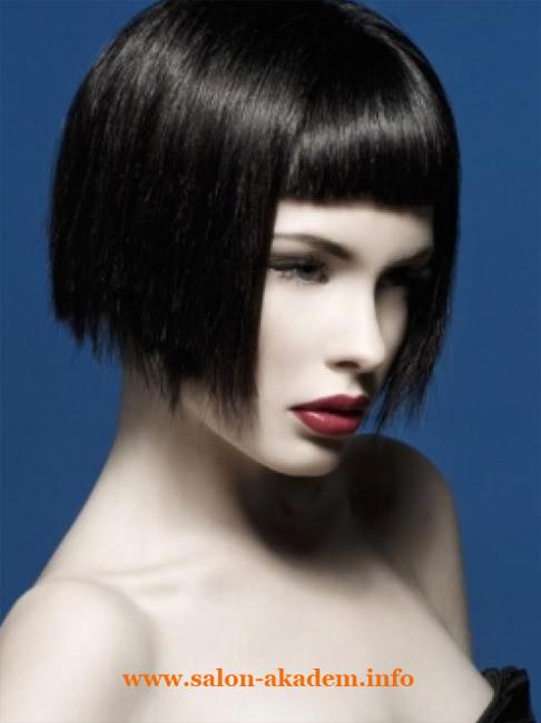 Прическа боб для тонких волос