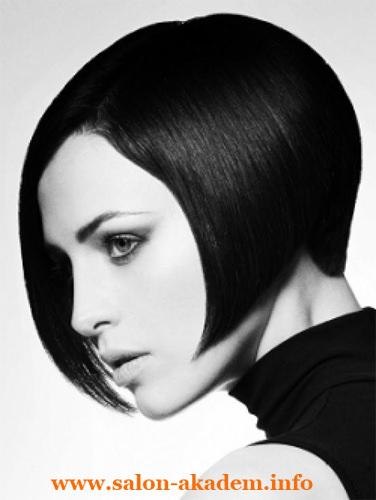 Каре стрижка на короткие волосы