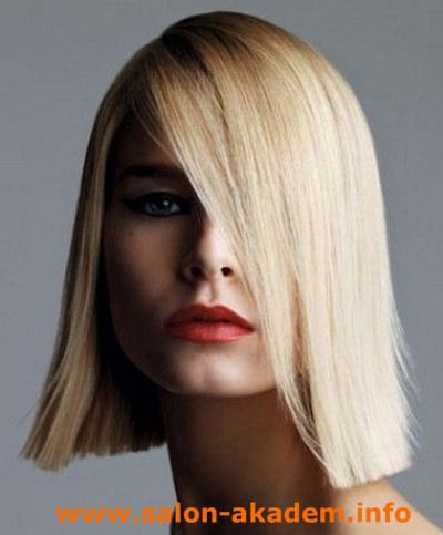 Женские стрижки на средние волосы без челки (55 фото): красивые ... | 483x400