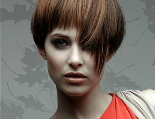 Женская прическа Шапочка на короткие волосы