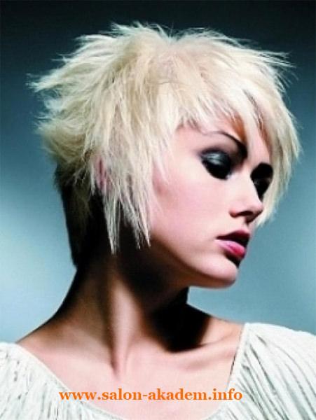 Стрижки каскад на короткие волосы фото