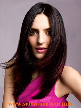 Каскад на длинные тонкие волосы фото