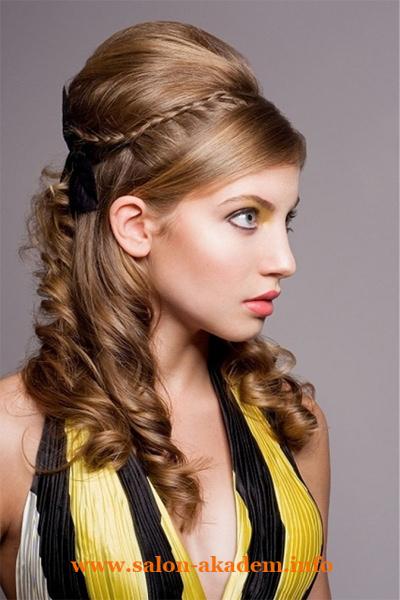 Прически в греческом стиле на длинные волосы