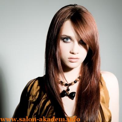 Каскад на длинные редкие волосы
