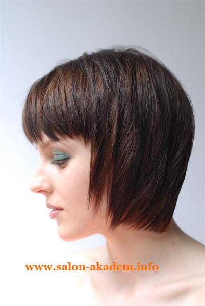 Фото прически каскад на короткие волосы