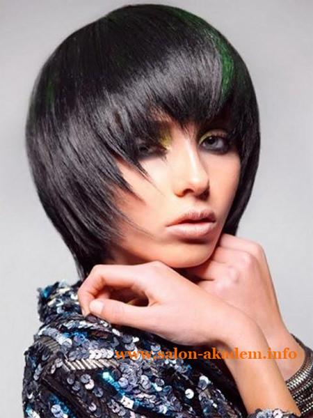 Прическа каскад на короткие волосы