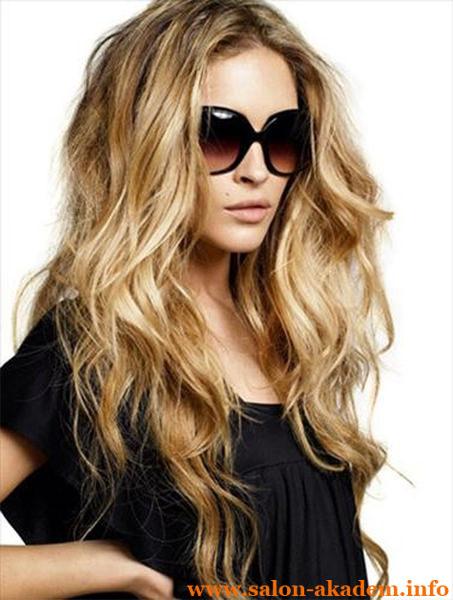 Прически каскад на длинные волосы