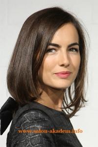 Удлиненный боб для тонких волос