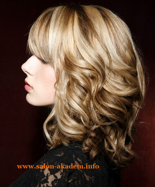 Medium length haircuts for fine hair and round face