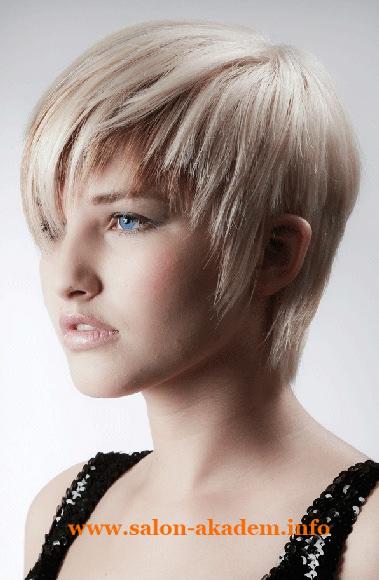 Прическа каскад на короткие волосы фото