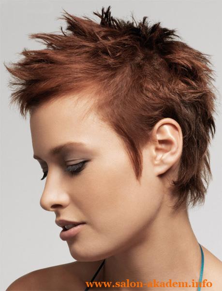 Стрижка пикси для тонких волос фото