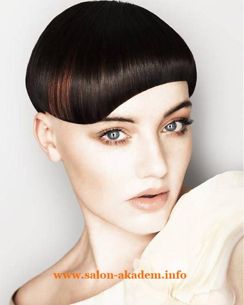 Стрижка боб для тонких волос средней длины