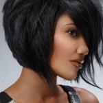 Стрижка боб на короткие густые волосы фото