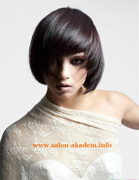 Стрижка боб для волос средней длины