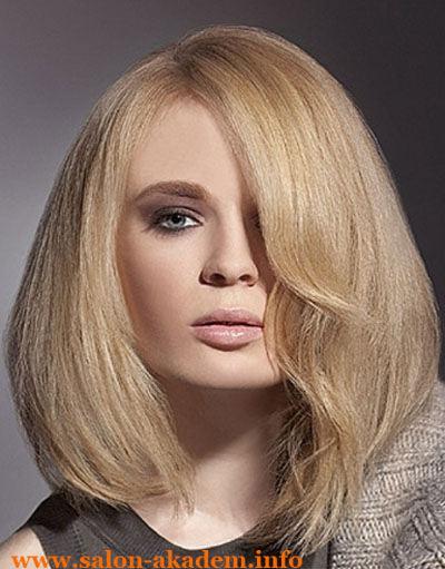Градуированный боб на длинные волосы