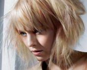 Градуированный боб на средние волосы