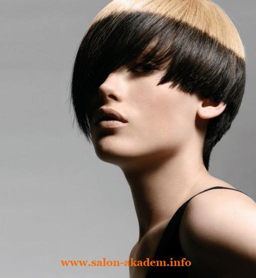 Стрижка боб на короткие волосы