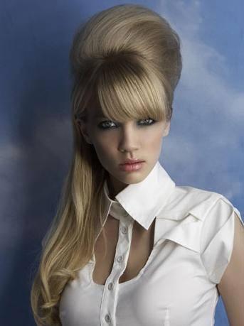 Бабетта на длинные волосы