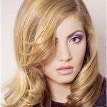 Стрижка каскад на тонкие вьющиеся волосы