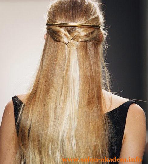 Прическа мальвина на длинные волосы фото
