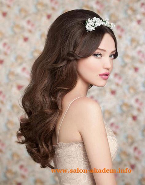 Прическа мальвина на свадьбу
