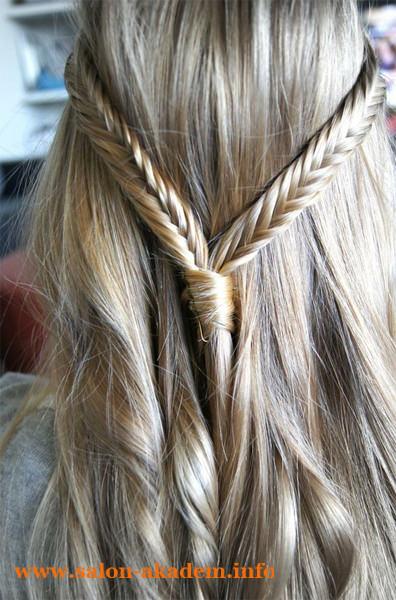 Прическа мальвина с плетением