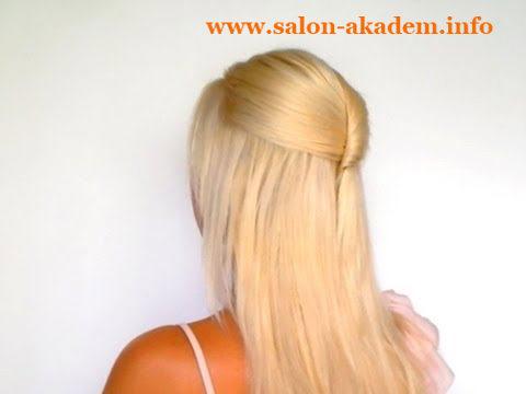 прическа мальвина для средних волос