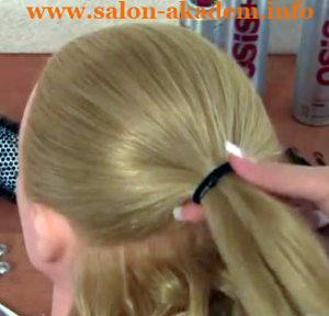 прическа мальвина с бантом из волос