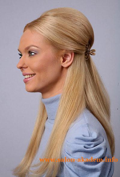Прическа мальвинка для длинных волос фото
