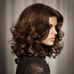 Стрижка итальянка на длинные волосы