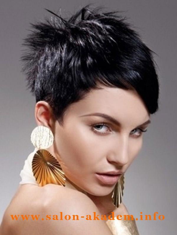 Стрижка гаврош фото на короткие волосы