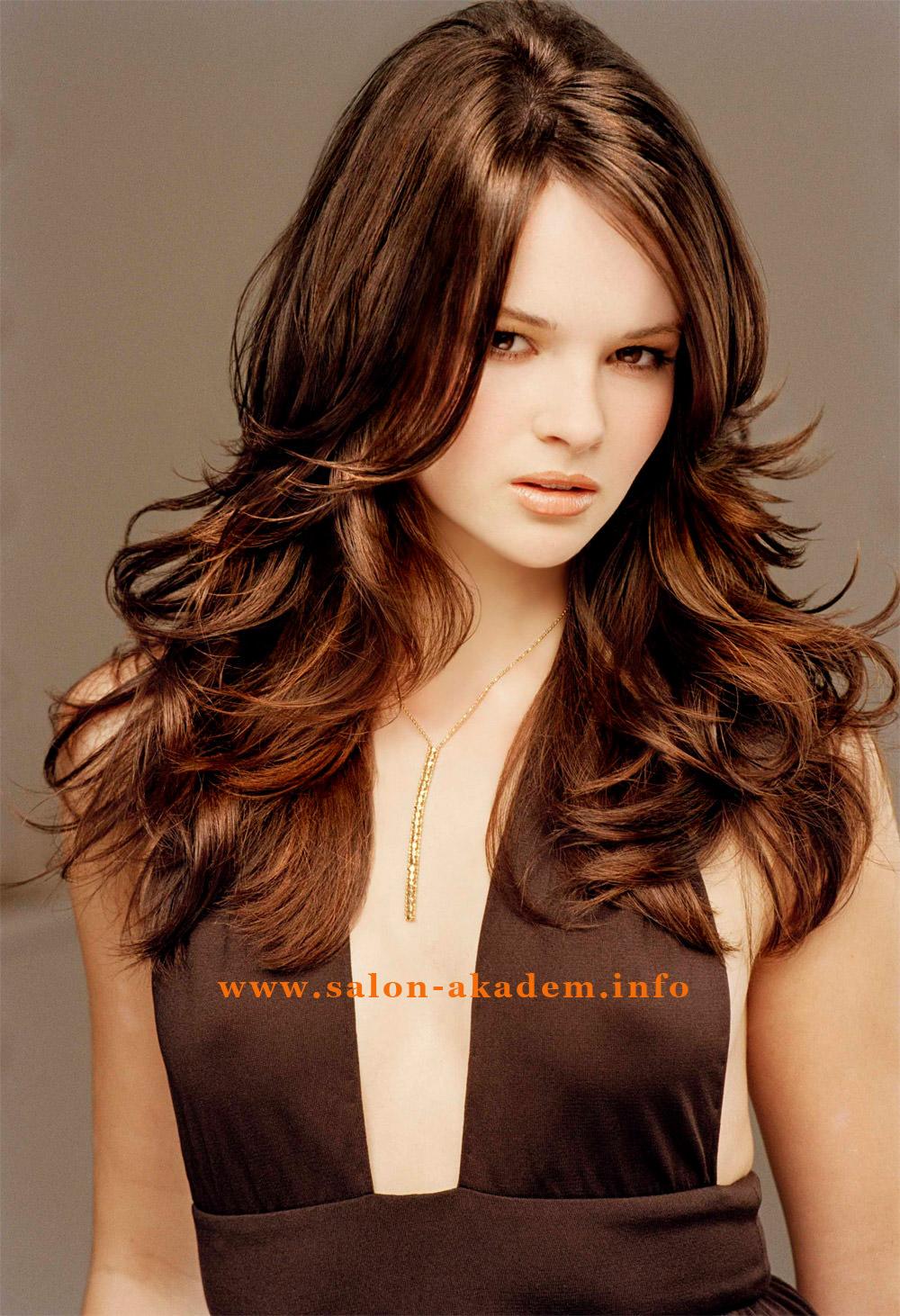 Прическа итальянка на длинные волосы