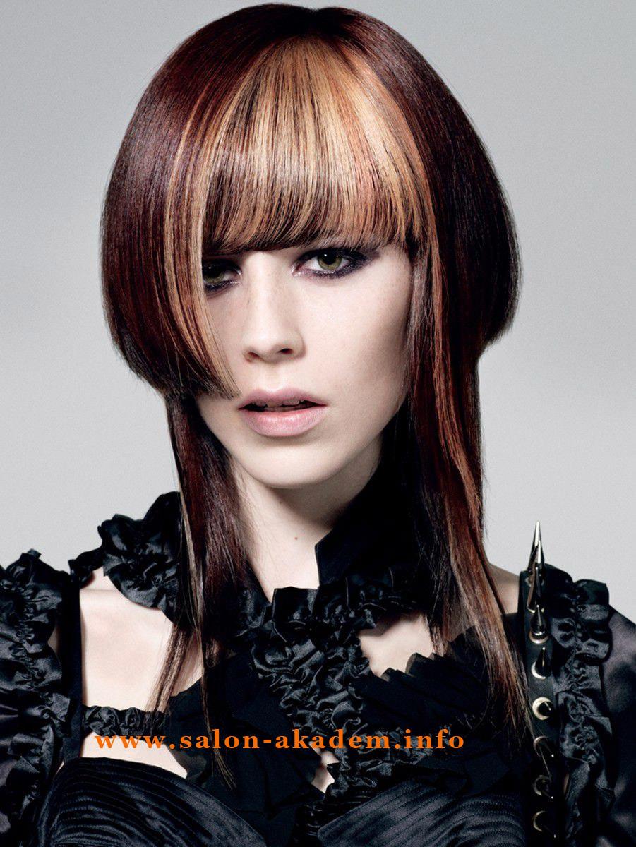 Стрижка шапочка женская на длинные волосы