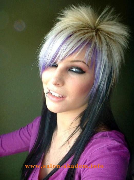 Прическа гаврош женская на длинные волосы фото