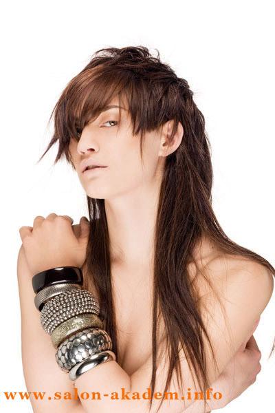 стрижка шапочка на волосы длинные фото с челкой