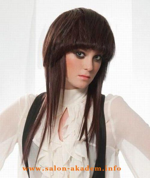 Прическа шапочка с длинными волосами