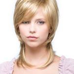 Стрижка шапочка на средние волосы с сохранением длины