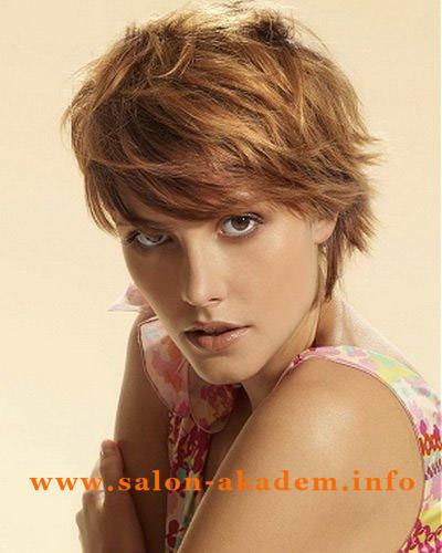 Прическа итальянка на короткие волосы фото