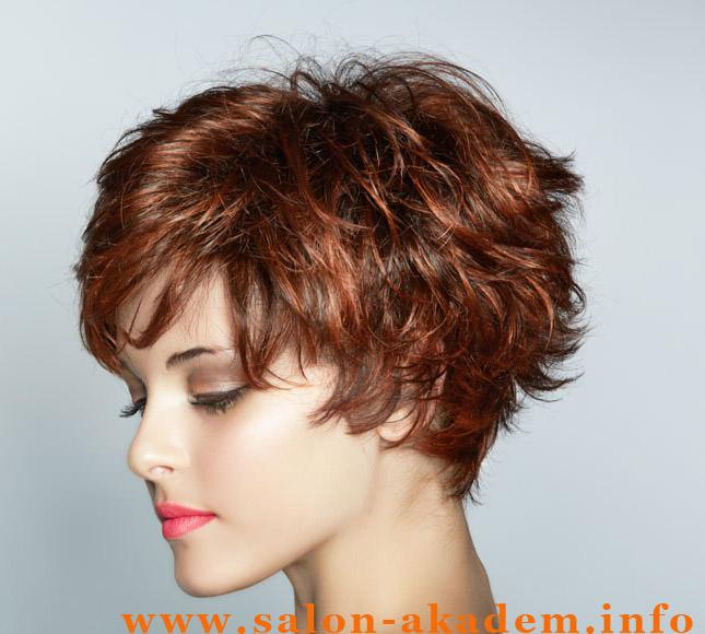 Стрижка волос шапочка