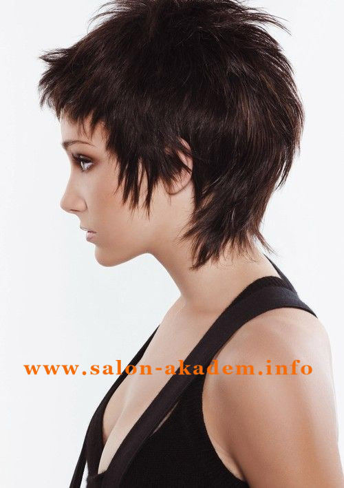 Стрижка гаврош на короткие волосы фото